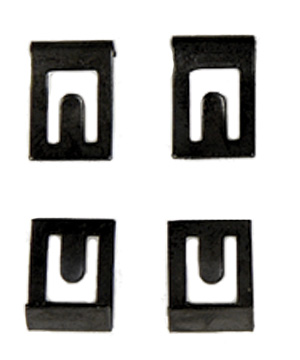 1964-1968 CLIP SET, TOP SWITCH MOUNT (4)