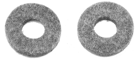1964-1972 Clutch Bellcrank Felt Seals (Pair)