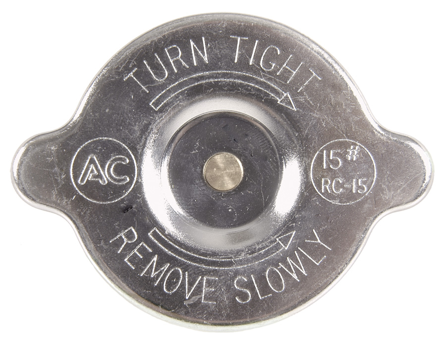 1964-1972 RADIATOR CAP RC-15, EXACT REPRODUCTION*