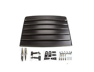 1969-1970 REAR WINDOW LOUVER KIT (FASTBACK)