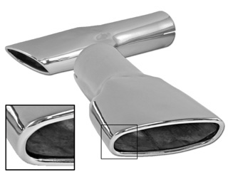 1970 EXHAUST TIPS (MACH 1) - PR